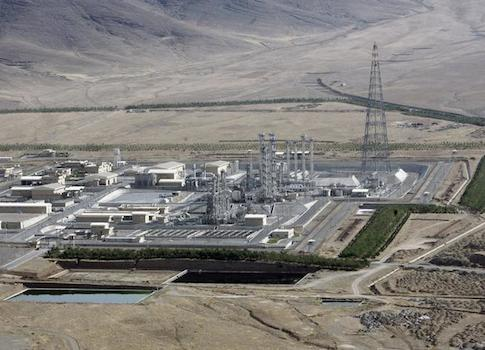 A view of the Arak heavy-water project 190 km (120 miles) southwest of Tehran / REUTERS