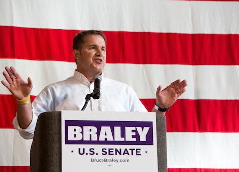U.S. Senate candidate Bruce Braley / AP