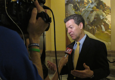 Kansas Gov. Sam Brownback / AP