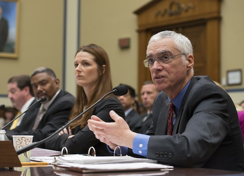 EPA Deputy Administrator Bob Perciasepe testifying in front of the House Oversight Committee / AP