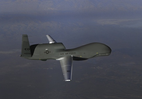 Global Hawk unmanned aircraft / AP