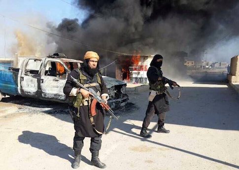 ISIS fighters in Iraq / AP