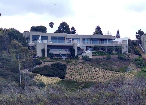 Irwin Jacobs San Diego beachside mansion.