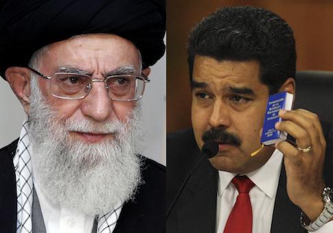 Ali Khamenei, Nicolas Maduro