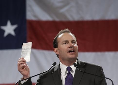 Sen. Mike Lee (R., Utah) / AP