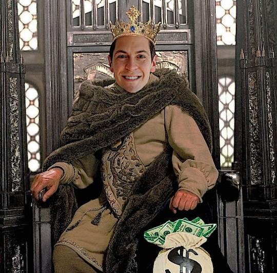 Facebook spouse/aspiring feudal lord Sean Eldridge.