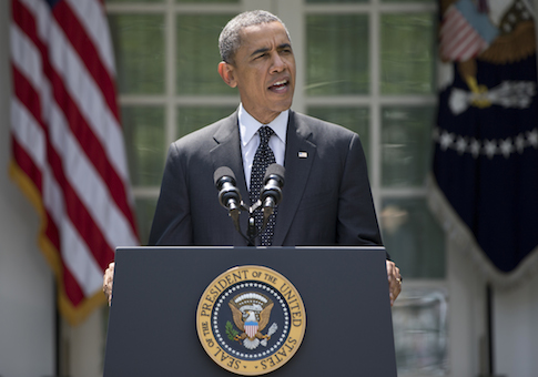 President Barack Obama announces U.S. withdrawal from Afghanistan / AP