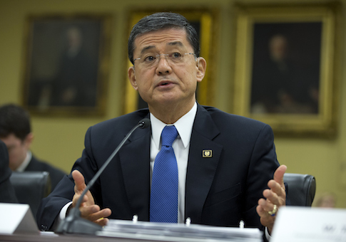 Veterans Affairs Secretary Eric Shinseki / AP