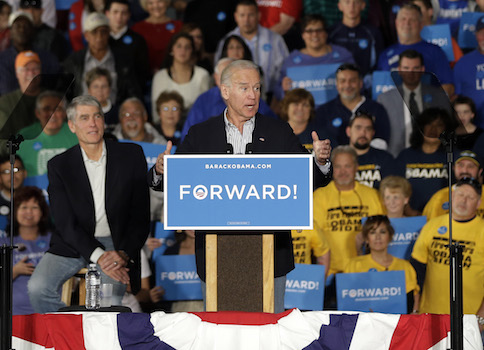 Vice President Joe Biden and Sen. Mark Udall, (D.,Colo.)  / AP