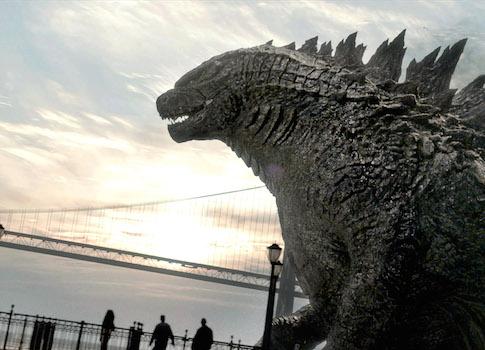 A scene from 'Godzilla' / AP