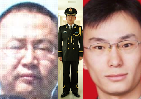 Wang Dong, Sun Kailian, Gu Chunhui / May 1 indictment