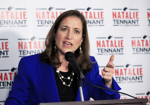 West Virginia Secretary of State Natalie Tennant / AP