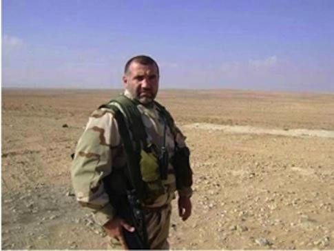 Fawzi Ayoub in Hezbollah uniform / Alhadathnews.net