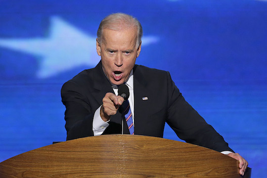 Biden being Biden. (AP)