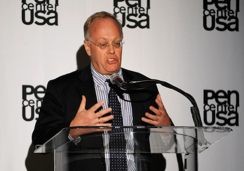 Pulitzer winning plagiarist Chris Hedges / AP