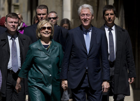 Bill and Hillary Clinton / AP