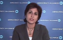 CAP President Neera Tanden speaks to the Democracy Alliance