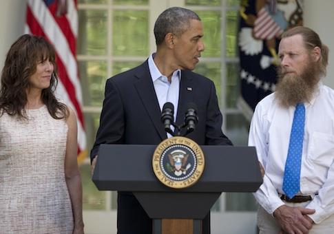 Barack Obama, Jani Bergdah, Bob Bergdahl