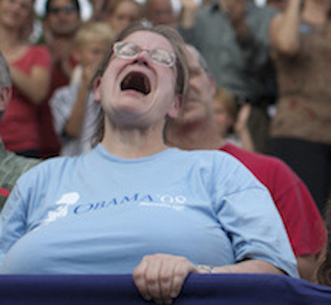 Democrats are hazzing an epic sad. (AP)