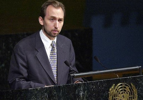 Prince Zeid Ra'ad Zeid al-Hussein / AP