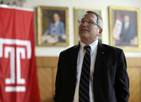 Temple University President Neil Theobald / AP