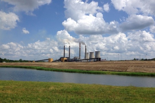 New natural gas burning plant in Kentucky