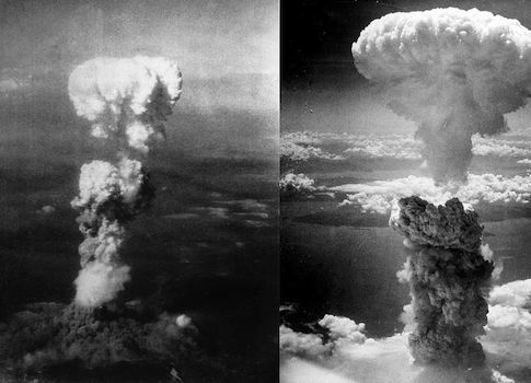 The bombings of Nagasaki and Hiroshima / Wikimedia Commons