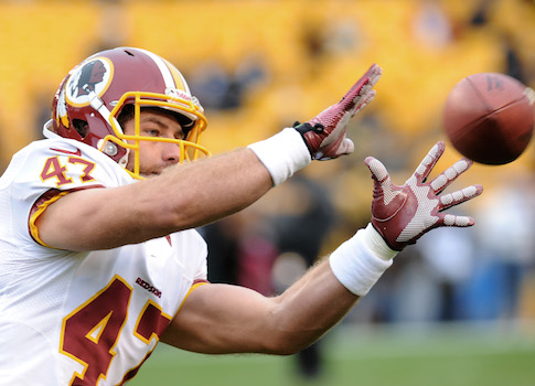 Former Redskins tight-end Chris Cooley / AP