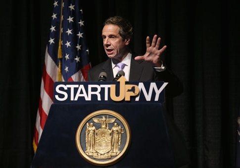 New York Gov. Andrew Cuomo (D.) / AP
