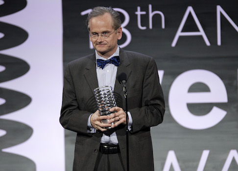 Legal professor Lawrence Lessig / AP