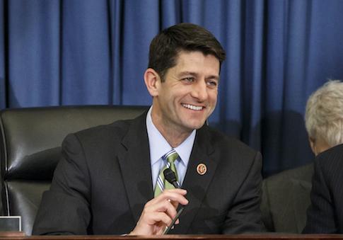 House Budget Committee Chairman Rep. Paul Ryan, (R., Wis.) / AP