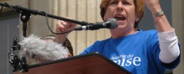 Randi Weingarten, president of the American Federation of Teachers / AP