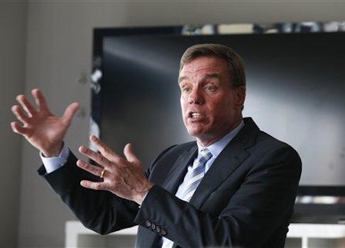 US Senator Mark Warner, (D., Va.) / AP