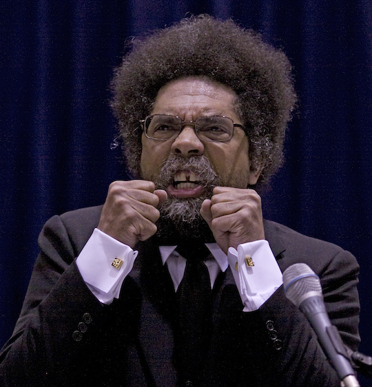 Foremost public intellectual Cornel West. (AP)