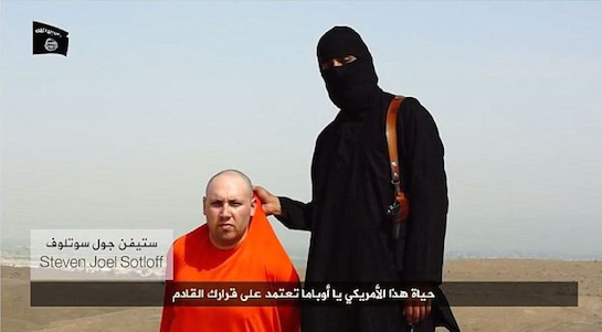 ISIS behead US Journalist James Wright Foley on video - Aug 2014
