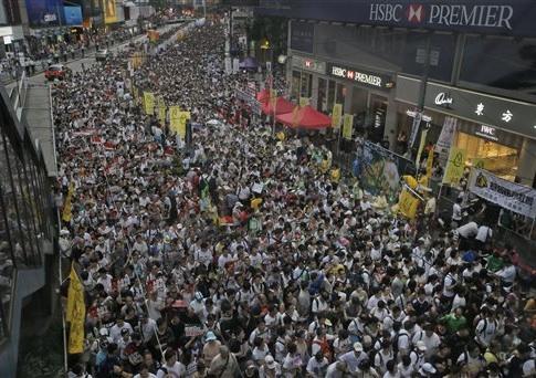 Pro-democracy protests in Hong Kong