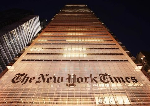 New York Times building / AP