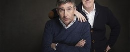Steve Coogan and Rob Brydon / AP