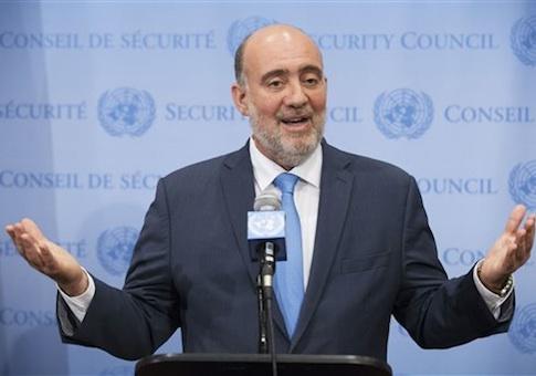 Israeli U.N. Ambassador Ron Prosor / AP