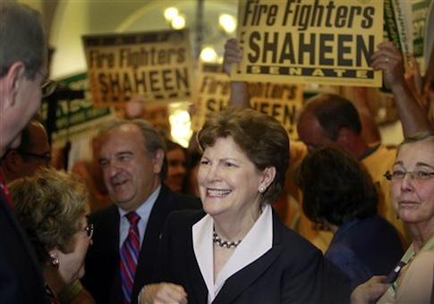 Sen. Jeanne Shaheen (D-N.H.) / AP