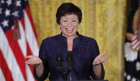 Counter-terrorism expert Valerie Jarrett. (AP)