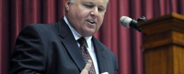 Rush Limbaugh: Friend of the Working Man / AP