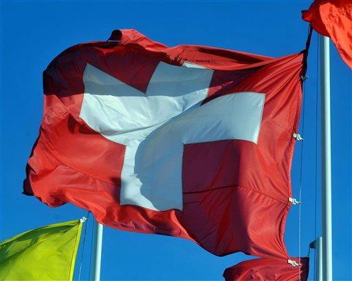 Flag of Switzerland / AP