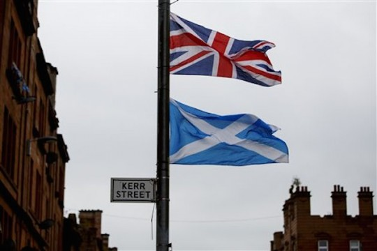 Scottish Independence Referendum, Scotland, Britain - 18 Sep 2014