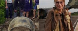 Danny Glover, Mia Farrow in Ecuador