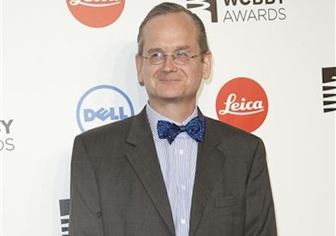 lawrence lessig 'republic, lost: how money corrupts congress – and a plan to stop it' by  lawrence lessig courtesy of twelve/hachette book group.