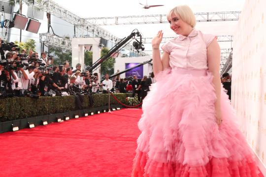 Lena Dunham: Enabler of dreams, fashion icon (AP)