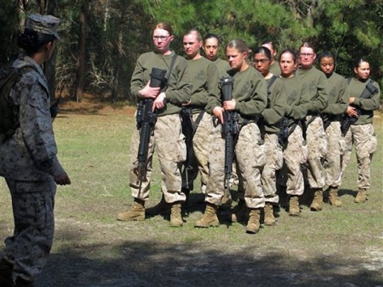 EXCLUSIVE: Two More Female Marines Dropped from Infantry Course ...
