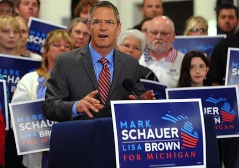 Democratic gubernatorial candidate Mark Schauer