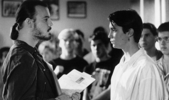 Wil Wheaton staring down a drug lord in Toy Soldiers